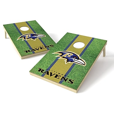 Tailgate Toss NFL Cornhole Game Set; Baltimore Ravens