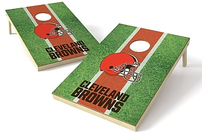Tailgate Toss NFL Cornhole Board (Set of 2); Cleveland Browns