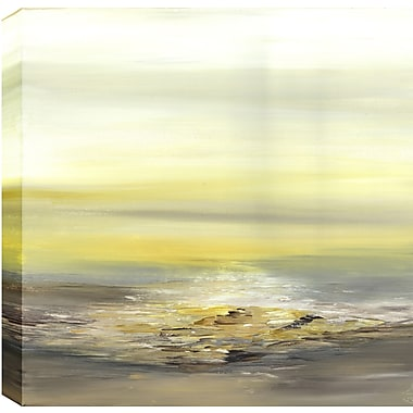 Hobbitholeco. Bright Light Abstract' by Sanjay Patel Painting Print on Wrapped Canvas