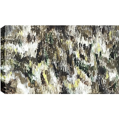 Hobbitholeco. Dark Forest Abstract' by Sanjay Patel Painting Print on Wrapped Canvas