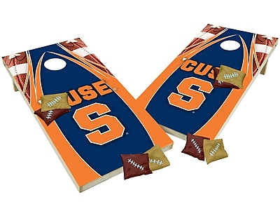 Tailgate Toss NCAA Shied Design Cornhole Game Set; Syracuse Orange