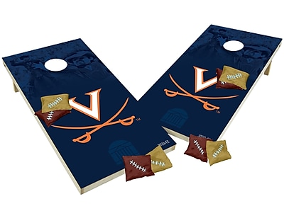 Tailgate Toss NCAA Shied Design Game Cornhole Set; Virginia Cavaliers