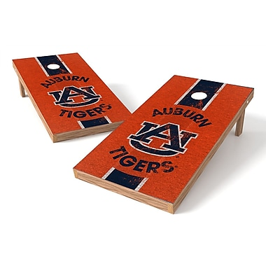 Tailgate Toss NCAA Cornhole Game Set; Auburn Tigers