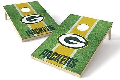 Tailgate Toss NFL Cornhole Board (Set of 2); Green Bay Packers