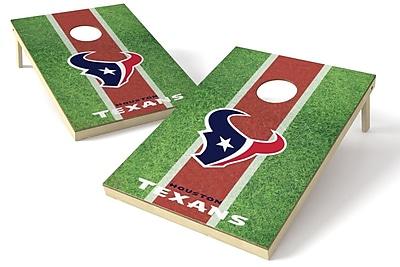 Tailgate Toss NFL Cornhole Board (Set of 2); Houston Texans