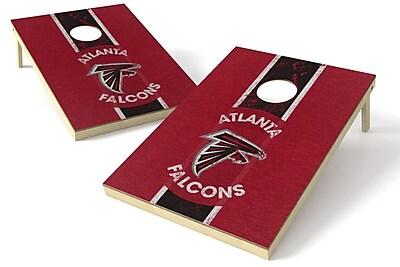 Tailgate Toss NFL Heritage Cornhole Game Set; Atlanta Falcons