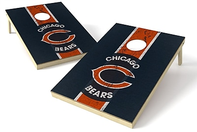 Tailgate Toss NFL Heritage Cornhole Game Set; Chicago Bears