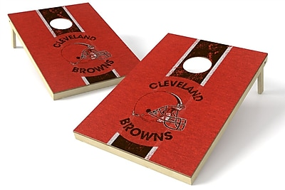 Tailgate Toss NFL Heritage Cornhole Game Set; Cleveland Browns