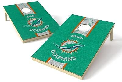 Tailgate Toss NFL Heritage Cornhole Game Set; Miami Dolphins