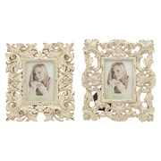 Cole & Grey 2 Piece Polystone Picture Frame Set (Set of 2)