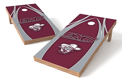 Tailgate Toss NCAA Game Cornhole Set; Eastern Kentucky Colonels Lady Colonels