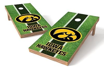 Tailgate Toss NCAA Field Game Cornhole Set; Iowa Hawkeyes