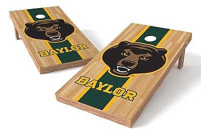 Tailgate Toss NCAA Hardwood Game Cornhole Set; Baylor Bears