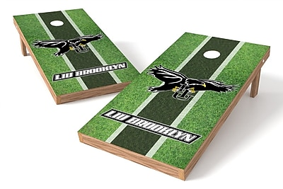 Tailgate Toss NCAA Field Game Cornhole Set; LIU Brooklyn Blackbirds