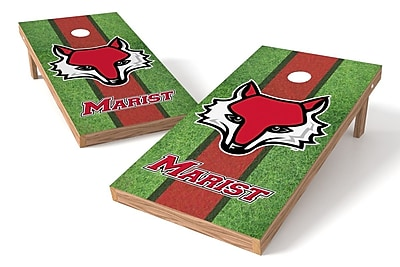Tailgate Toss NCAA Field Game Cornhole Set; Marist Red Foxes