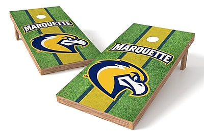 Tailgate Toss NCAA Field Game Cornhole Set; Marquette Golden Eagles