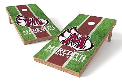 Tailgate Toss NCAA Field Game Cornhole Set; Meredith Angels