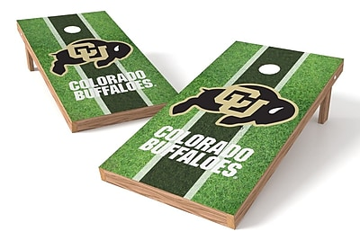 Tailgate Toss NCAA Field Cornhole Game Set; Colorado Buffaloes