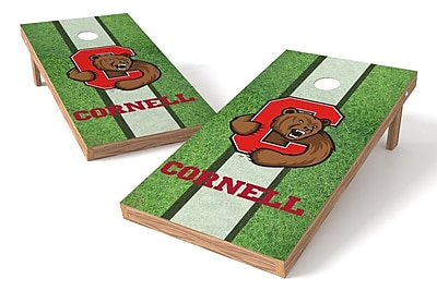 Tailgate Toss NCAA Field Game Cornhole Set; Cornell Big Red
