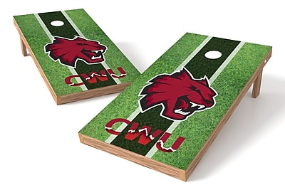 Tailgate Toss NCAA Field Game Cornhole Set; Central Washington Wildcats