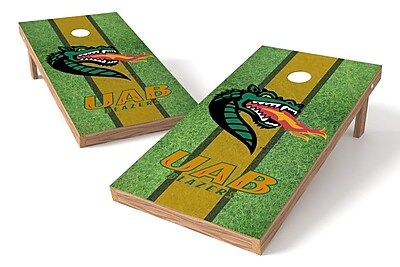 Tailgate Toss NCAA Field Game Cornhole Set; UAB Blazers