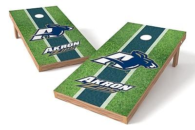 Tailgate Toss NCAA Field Game Cornhole Set; Akron Zips