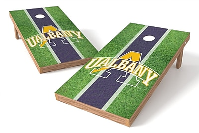 Tailgate Toss NCAA Field Game Cornhole Set; Albany Great Danes