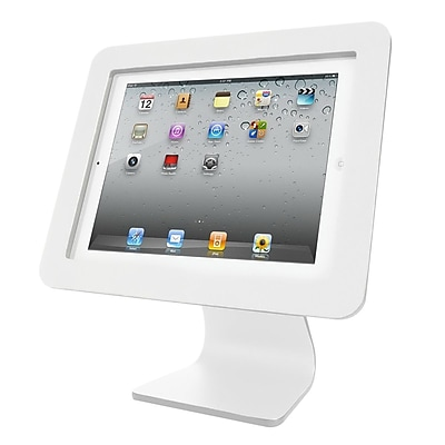 Compulocks Enclosure Kiosk iPad Desk Mount, White (AIO-W) IM13B6587
