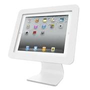 Compulocks® Enclosure Kiosk iPad Desk Mount, White (AIO-W)