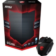 msi® Laser Wired Gaming Mouse, Black/Red (INTERCEPTOR DS200)