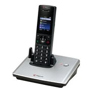 Polycom® VVX® D60 Base Station with Wireless Handset, Black/Silver