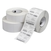 "Zebra® Z-Select 4000D Permanent Adhesive Direct Thermal Label, 2 1/4"" x 1 1/4"", Bright White, 12 Rolls/Pack (800322-125)"