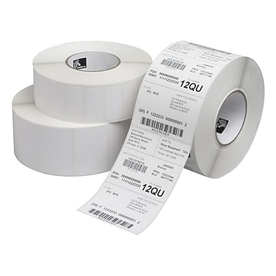 Zebra® Z-Select 4000D Permanent Adhesive Direct Thermal Label, 2 1/4