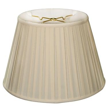 RoyalDesigns Timeless 18'' Silk Empire Lamp Shade; Eggshell/Off White