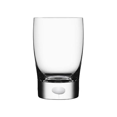 Orrefors Intermezzo Tumbler Glass; Satin