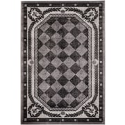 Rug and Decor Inc. Summer Elite Gray Diamond Modern Area Rug; 5' X 7'