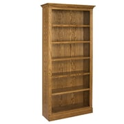 A&E Wood Designs Britania 84'' Standard Bookcase; Light