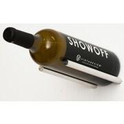 VintageView Vino Rails 1 Bottle Wall Mounted Wine Rack; Milled Aluminum