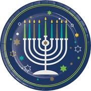 Creative Converting Hanukkah Plates, 8 pack (317194)