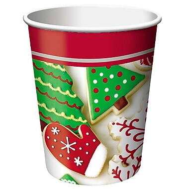 Creative Converting Holiday Treats 9 oz Cups, 8 pack (376937)