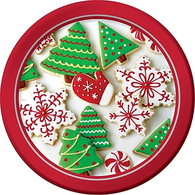 Creative Converting Holiday Treats Dessert Plates, 8 pack (416937) 2453675