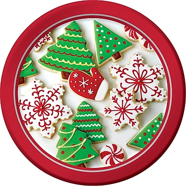 Creative Converting Holiday Treats Dessert Plates, 8 pack (416937)