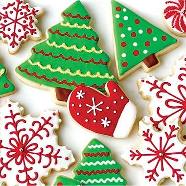 Creative Converting Holiday Treats Beverage Napkins, 16 pack (656937)