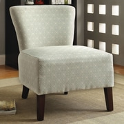 Hokku Designs Menara Slipper Chair; Ivory