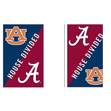 Evergreen Enterprises, Inc Auburn & Alabama ''House Divided'' Banner