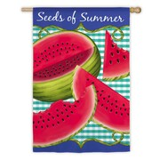Evergreen Enterprises, Inc Seeds of Summer Garden Flag