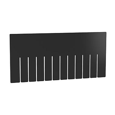 Akro Mils Short Divider for Grid Box (Set of 6); 7.19'' H x 0.1'' W x 15.32'' D