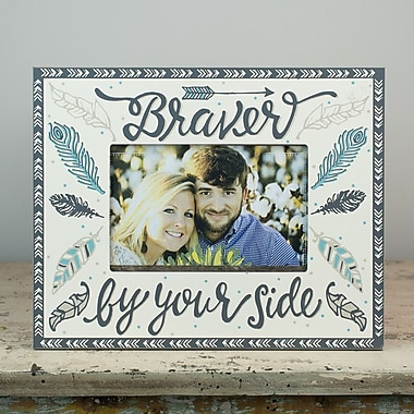 Glory Haus Braver by Your Side Picture Frame