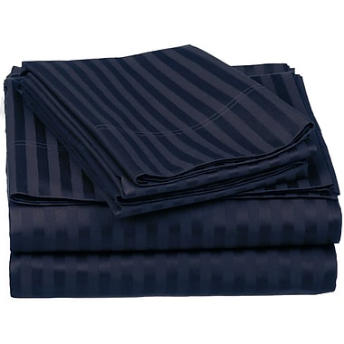 Simple Luxury Superior 650 Thread Count Premium Long-Staple Combed Cotton Sheet Set; Twin XL