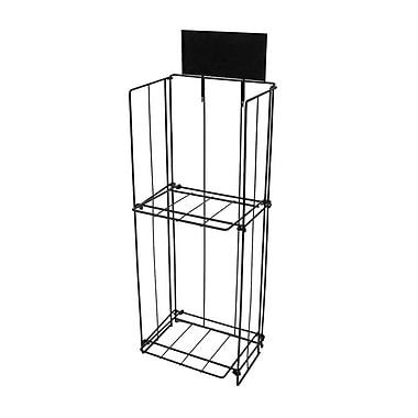 FuTECH – Porte-affiche magnétique pour le comptoir, acrylique transparent, 6/paquet